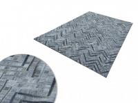 Teppich Leder NOURA - 140 x 200 cm