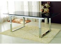Esstisch Glas Cagliari - Ausziehbar