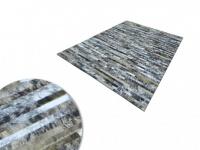 Teppich Leder NICOLAS - 140 x 200 cm