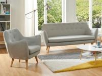 Couchgarnitur 3+1 Stoff JENNY