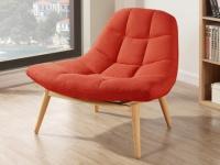 Lounge-Sessel Stoff Kribi - Orange