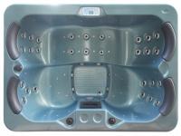 LED-Whirlpool Spa Themise II - 4 Plätze - Blau
