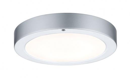 Paulmann WallCeiling Smooth LED-Panel 210mm 7, 5W 230V Chrom matt/Weiß Metall/Kunststoff - Vorschau 2