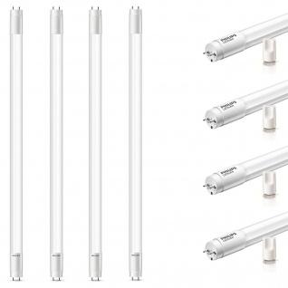 4x Philips 29000296801 T8 LED 60 cm G13 Leuchtstoffröhre 9 W Neutralweiß