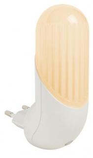 TIP Smart LED Steckerleuchte max.0, 43W Weiß/Amber 230V Kunststoff