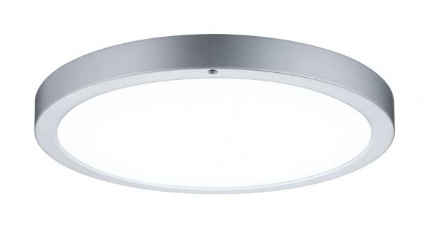 Paulmann 704.34 WallCeiling Smooth LED-Panel 360mm 13W 230V Chrom matt/Weiß Metall/Kunststoff