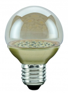 Paulmann 280.79 LED Miniglobe 60 1x2, 3W E27 Gold