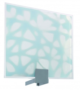 701.07 Paulmann Lampenschirme WallCeiling DS Modern Deco-Set WL Plain Blow 220x200mm Metall/Glas