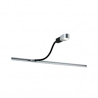 Paulmann URail Syst LED Leseleuchte Torch 1x5, 5W Chrom matt 230V Metall/Kunststoff