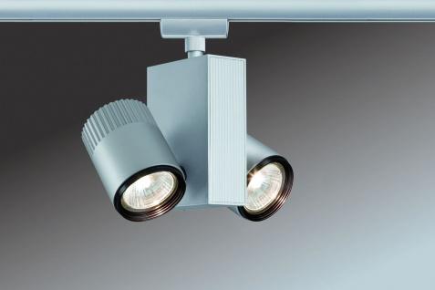 Paulmann 950.90 URail Schienensystem Light&Easy Spot Tecno 2x28W GU5, 3 Chrom matt 230V/12V Metall - Vorschau 3