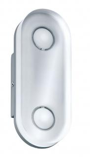 Paulmann WallCeiling rund Theta IP44 LED 1x9W Alu eloxiert/Klar 230V Metall/Acryl