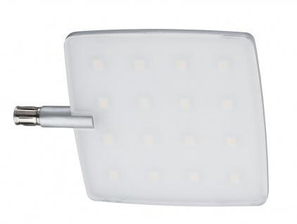 Paulmann 702.20 Living CombiSystems NanoLED Spot Pad 5W LED Alu gebürstet Alu/Acryl