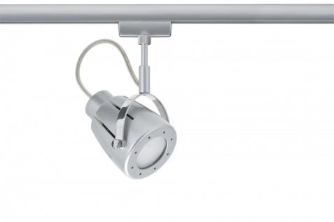 950.31 Paulmann U-Rail Einzelteile URail System Light&Easy Spot Mega max. 1x50W GU10 Chrom matt 230V Metall