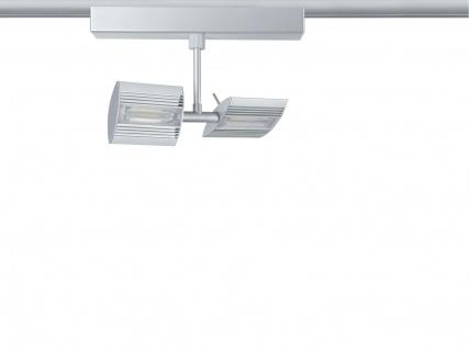 Paulmann 952.18 URail Schienensystem Spot Linear II 2x7, 8W Chrom matt 230V Metall