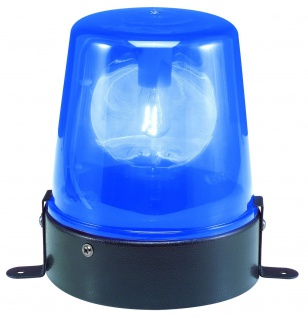TIP Party emergency light 1x15W E14 Blau 240V