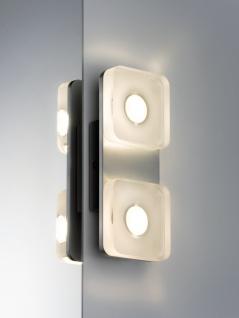 Paulmann WallCeiling eckig Tucana IP44 LED 1x9W Alu eloxiert/Klar 230V Metall/Acryl