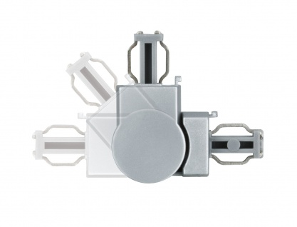 Paulmann ULine System L+E L-Verbinder flexibel Chrom matt Kunststoff - Vorschau 3