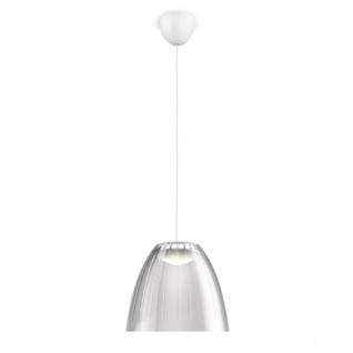 409048716 Philips myLiving LED Pendelleuchte Tenuto Hellgrau 4, 5W warmweiss