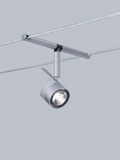 971.62 Paulmann Seil Zubehör Wire System Light&Easy Spot MiniPower 1x35W GU4 Chrom matt 12V Metall