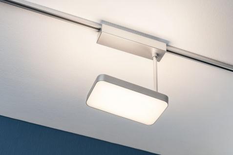 Paulmann 951.23 URail Schienensystem L&E LED Spot Pillow 24/5W Chrom matt 230V Metall