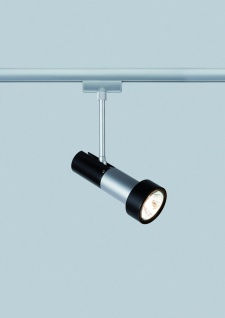 Paulmann URail Schienensystem Light&Easy Spot Klingsor 1x50W GU10 Chrom matt/Schwarz 230V Metall - Vorschau 3