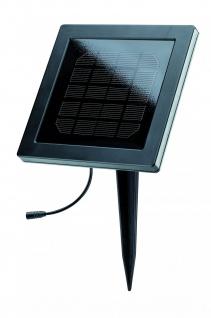 Paulmann 937.66 Special Solarmodul IP67 max.1W 12V DC Schwarz/Kunststoff