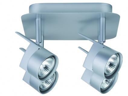 Paulmann Spotlights EasyPower Rondell 4x50W GU5, 3 Chrom matt 230/12V 2x105VA Metall