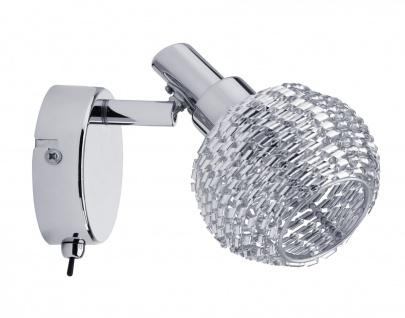 Paulmann 604.03 Spotlight Curl 1x42W G9 Chrom 230V Metall