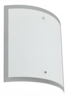 Paulmann Living Conero Wandleuchte 320x348mm 2x11W E27 Opal 230V Metall/Glas