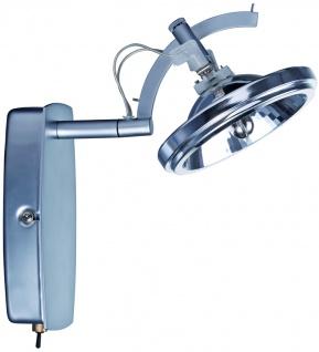 Chrom Spotlights Wasabi Balken 1x50W QR111 matt 230/12V 60VA Metall