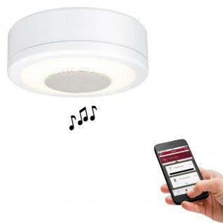 Paulmann Prem. Einbauleuchte LightSound LED 1x6W 2700K Ws - Vorschau 1