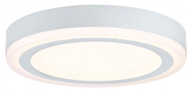 Paulmann WallCeiling Sol LED-Panel 12, 2W 245mm Weiß 230V Alu