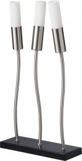 Paulmann 794.22 Living Dance Tischleuchte 3x11W Decopipe E27 Metall