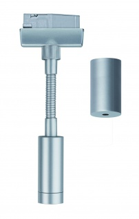 Paulmann URail Schienensystem Flex Pendel Adapter Chrom matt 230V Metall / Kunststoff