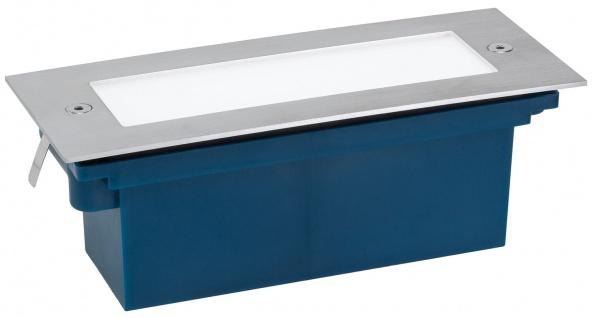 Paulmann Special Einbauleuchte Set Wand LED 1, 2W 230V 170x68mm Edelstahl/Metall