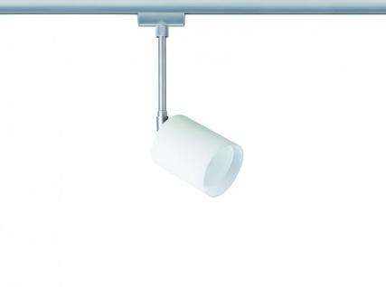 968.42 Paulmann U-Rail Einzelteile URail System Light&Easy Spot Kundry 1x40W GZ10 Chrom matt/Opal 230V Metall/Glas