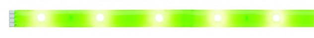 Paulmann Function YourLED DECO Stripe Neon Green 1m Warmweiß 2, 4W 12V DC Weiß Kunststoff