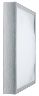 Paulmann 700.24 WallCeiling Bound 40W T5 420x420mm Alu gebürstet/Weiß 230V Alu/Acryl
