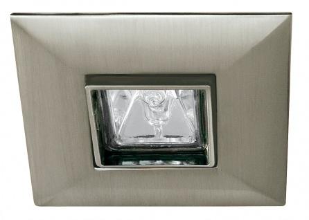 Premium EBL schwenkbar Quadro max.35W 12V GU5, 3 90mm Eisen gebürstet/Alu Zink