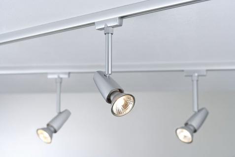 Paulmann 968.46 URail Schienensystem Light&Easy Spot Barelli 1x50W GU10 Titan 230V Metall - Vorschau 4