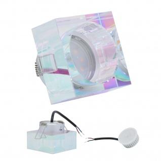 Einbauleuchte 5W 3000K Warmweiss 230V 400lm Dichroic inkl. austauschbare LED Modul geringe Einbautiefe