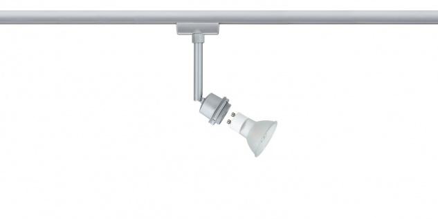 URail System DecoSystems LED Spot 1x3, 5W GZ10 230V Chrom matt Metall