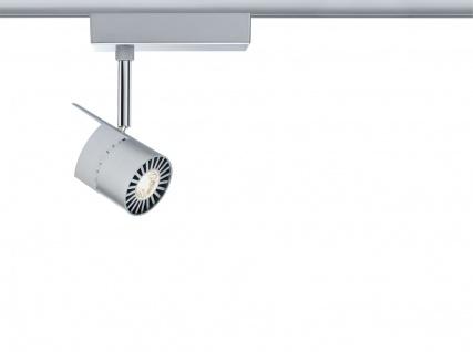 Paulmann 952.19 URail Schienensystem Spot PowerLED 1x7, 6W Chrom matt/Chrom 230V Metall