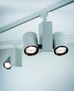 Paulmann URail Schienensystem Light&Easy Spot Tecno 2x28W GU5, 3 Chrom matt 230V/12V Metall