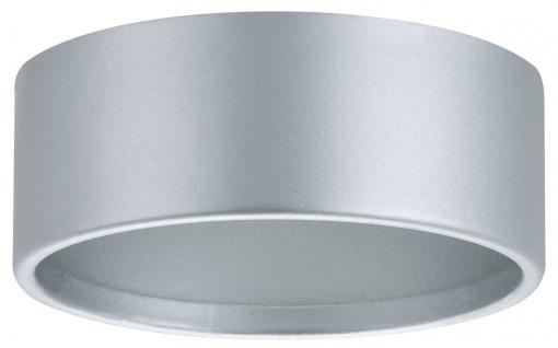 Paulmann 986.06 Möbel Aufbauring für Möbel Einbauleuchte IP44 schwenkbar Chrom matt/Stahl
