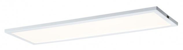 Paulmann 707.76 Function Ace LED-Panel Basic Set 10x30cm 9, 6W 230/24V 24VA Weiß satiniert Metall/Kunststoff