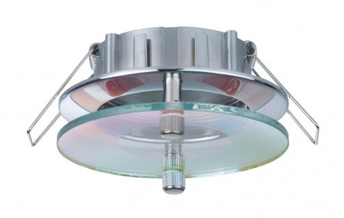Paulmann 926.63 2Easy Premium Einbauleuchte 3er Spot-Set Level starr 51mm Chrom/Schwarz/Dichroic