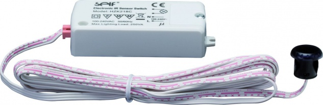 700.92 Paulmann Trafo Zubehör Function PIR-Sensor max.250W 230V Weiß-Kunststoff