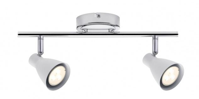 Paulmann Spotlight 2Simple LED 2x3, 5W GU10 230V Weiß/Chrom Metall