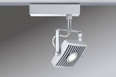 Paulmann URail Schienensystem LED Spot Loupe 1x10W Chrom matt/Chrom 230V Metall